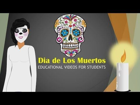 Dia de Los Muertos (Lesson) Educational Video for Students (Halloween Cartoons for Children) CN - YouTube