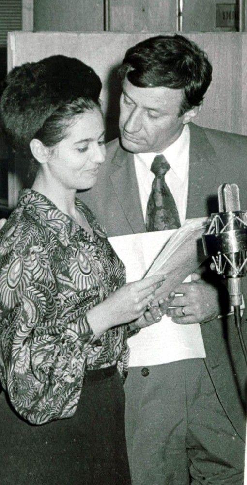 Adela Marculescu & Victor Rebengiuc, Romanian actors