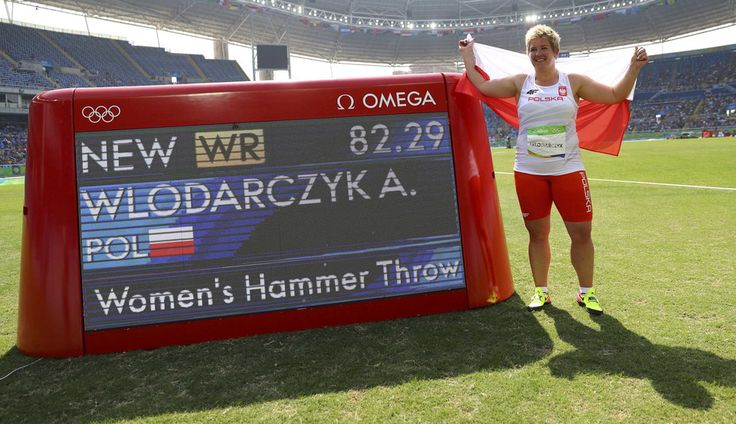 Anita Włodarczyk - rzut młotem