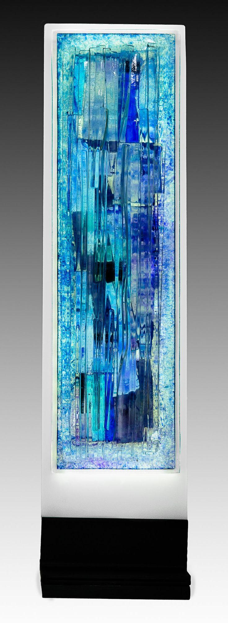 Indigo by Alicia Kelemen (Art Glass Sculpture) | Artful Home