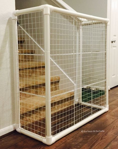 DIY | PVC Stand Alone Gate