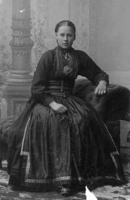 Beltestakk ca. 1900