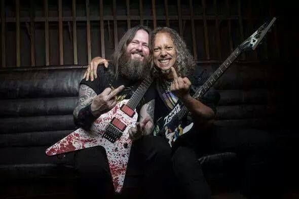 Gary Holt (Exodus) and Kirk Hammet (Metallica, ex-Exodus) \m/