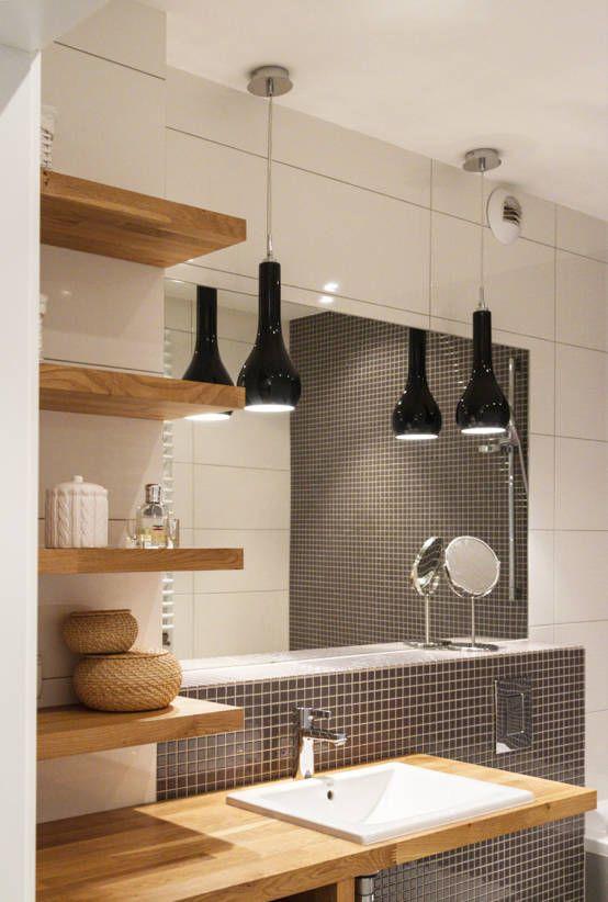 Łazienka Prądnik Biały : Skandynawska łazienka od SPOIWO studio