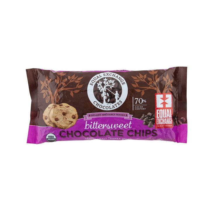 Organic Bittersweet Chocolate Chips (70% Cacao) | Equal Exchange