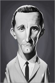 Rob Snow | caricatures - Kirk Douglas art | decor | wall art | inspiration | caricatures | home decor | idea | humor | gifts