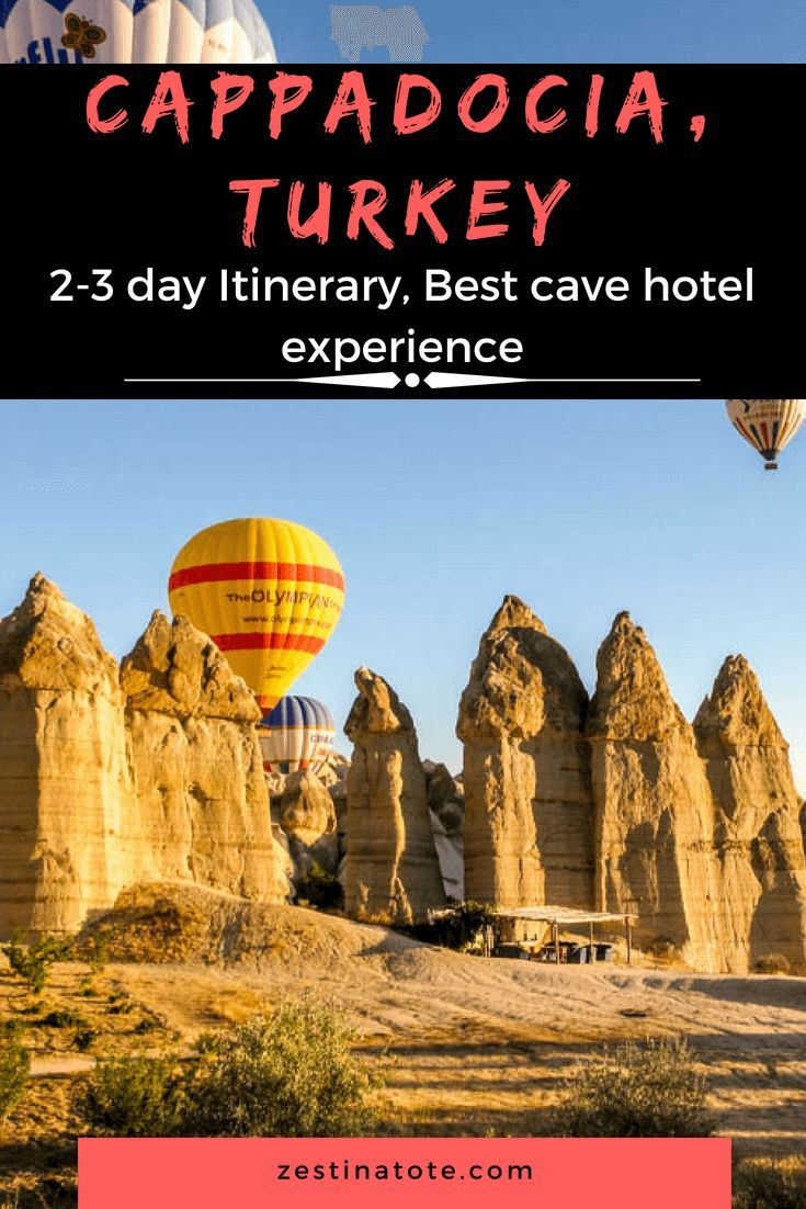 Cappadocia Is A Stunning Part Of Turkey Rent A Car And Explore Its Beauty Walk Drive Go Up On The Hot A Road Trip Europe Cappadocia Australia Travel Guide