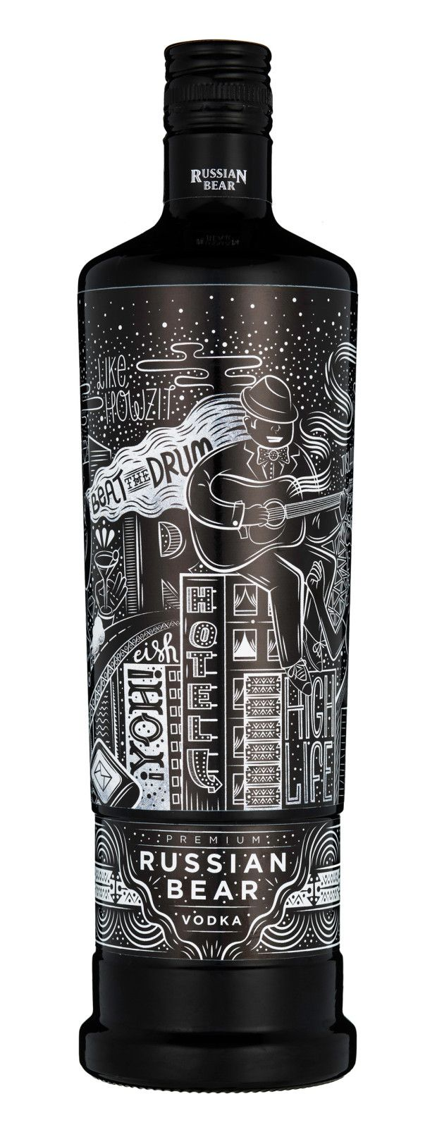 Russian Bear Vodka, #UrbanExpressions Campaign / designed by Hylton Warburton