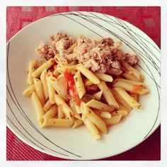 Macarrones con atún en salsa de verduras - La dieta ALEA - blog de nutrición y dietética, trucos para adelgazar, recetas para adelgazar