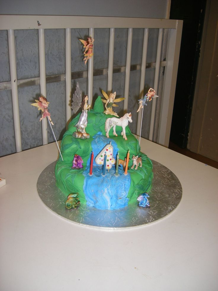 Enchanted Forest cake for 4 yo.  2011