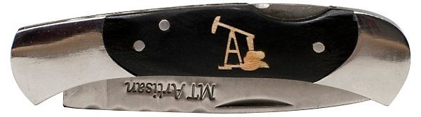Hamilton Pocketknife, Oil Rig Inlay | Gifts Under $50 | One Kings Lane