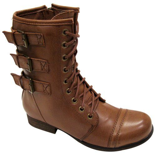 Madden Girl Womens Ginghamm Boot Cognac Size 7.5 Madden Girl,BOOTS to buy just click on amazon here    http://www.amazon.com/dp/B00EN3GYQO/ref=cm_sw_r_pi_dp_teKssb1N2T498MFE