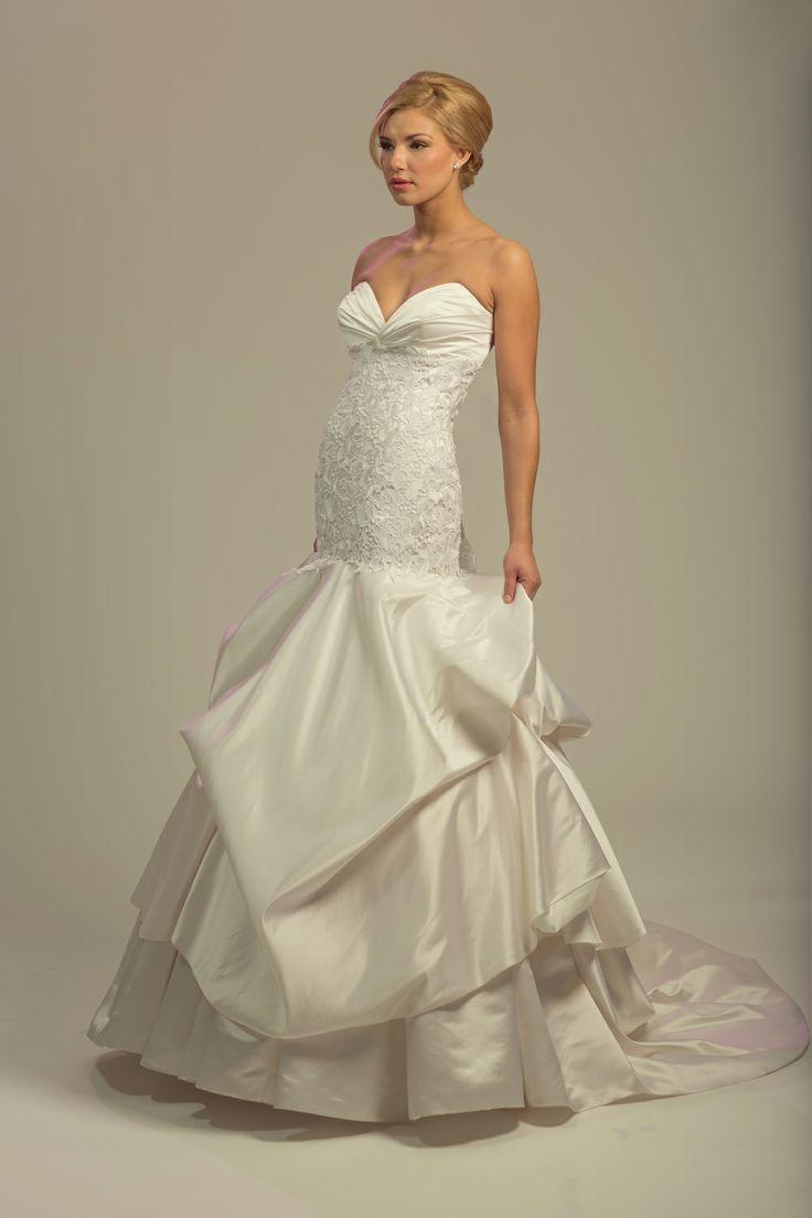 Fall 2014 Wedding dresses, Wedding dress Dresses: Melissa Gentile Photography: Beautifoto Hair: Malina Tang Makeup: Janet Persaud Models: Alexandra and Catherine