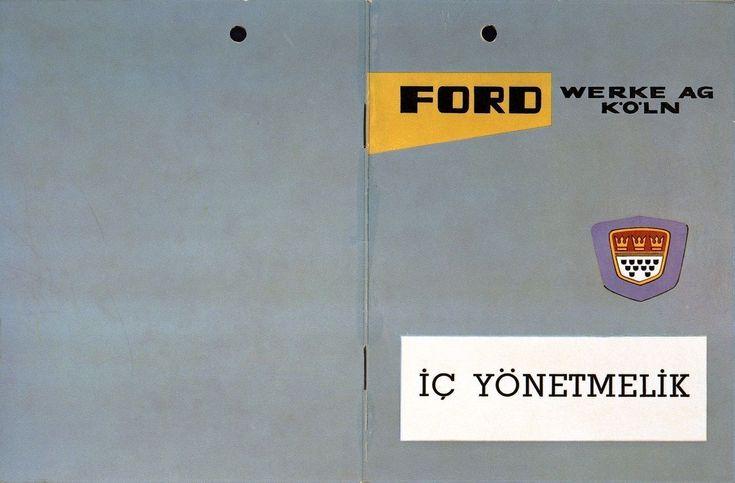 Vierzigseitiges Heft in türkischer Sprache, das sich an die türkischen Arbeitnehmer der Ford Werke in Köln wendet. Mit einer kurzen Firmengeschichte und weiteren Informationen.