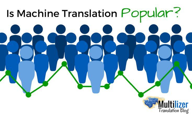 Is Machine Translation Popular?   Multilizer Translation Blog
