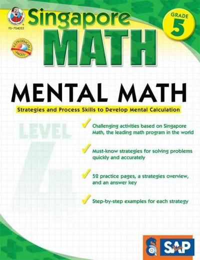 Mental Math: Strategies and Process Skills to Develop Mental Calculation, Grade 5