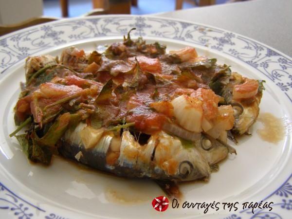 Σαρδέλες μυρωδάτες στο φούρνο #sintagespareas Omega 3