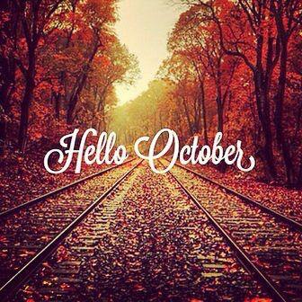 Hello October month october hello october welcome october october is here