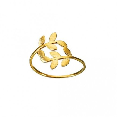 """""""Olive"""" Ring: gold"""