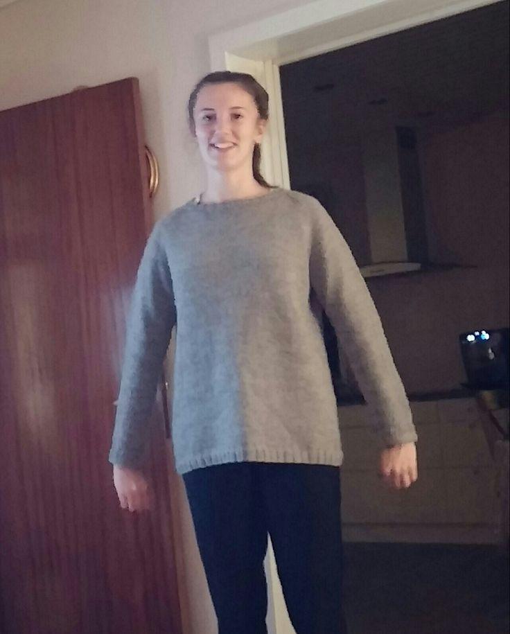 sweater i uld.