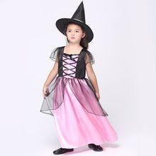 EK125 Европа и Соединенные Штаты детская одежда детская Одежда Косплей детский Сценический Костюм макияж Ведьма набор Танца Dress(China (Mainland))