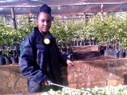 """Love agriculture and it will love you back"" 