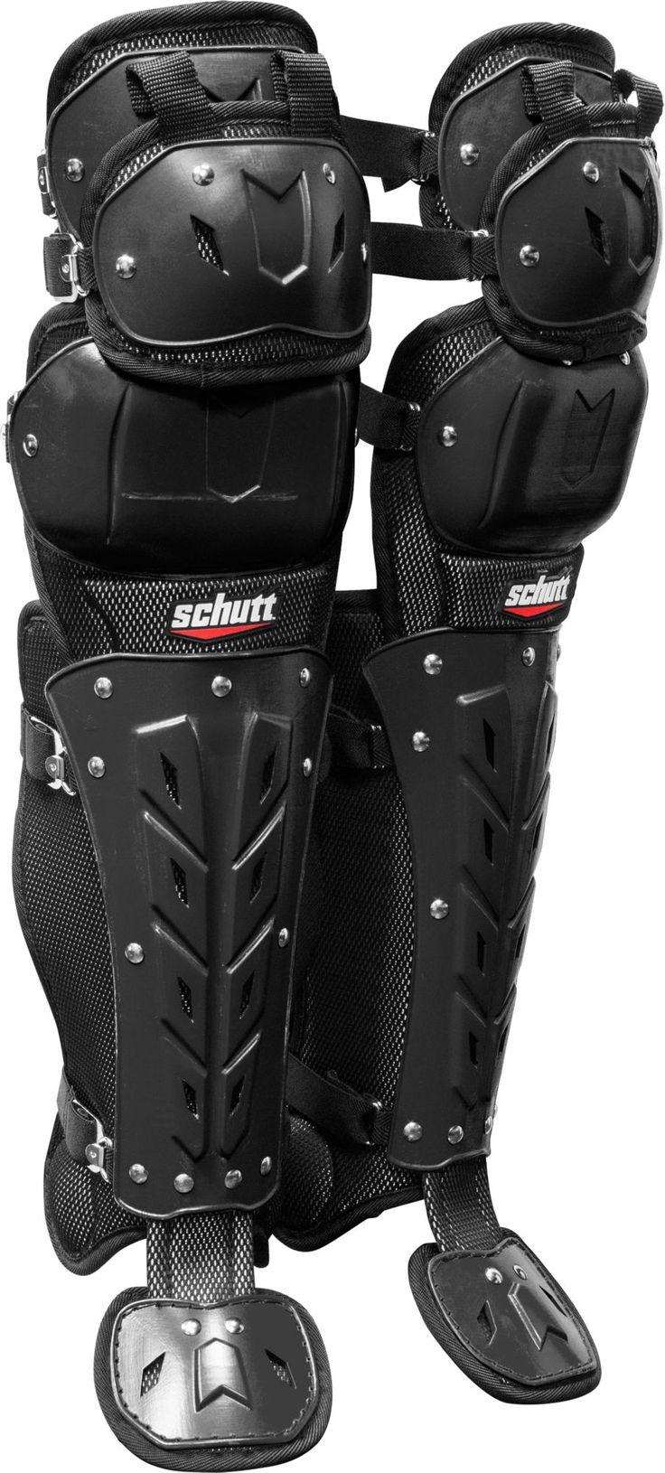 Schutt Air Maxx Scorpion Triple Knee Catcher's Leg Guards