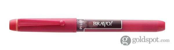 Pilot Bravo Red Liquid Ink Marker Pens, Bold Point