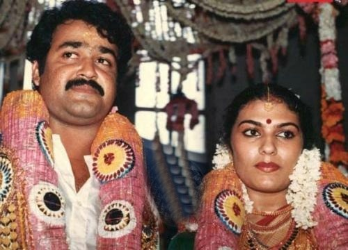 www.sameepam.com  The all time star Mohanlal Nair married Suchitra.