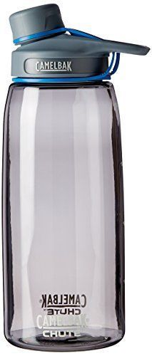 Outdoor-Camping-Hiking-1-Liter-Water-Bottle-Camelbak-Chute-Easy-to-Close-NEW
