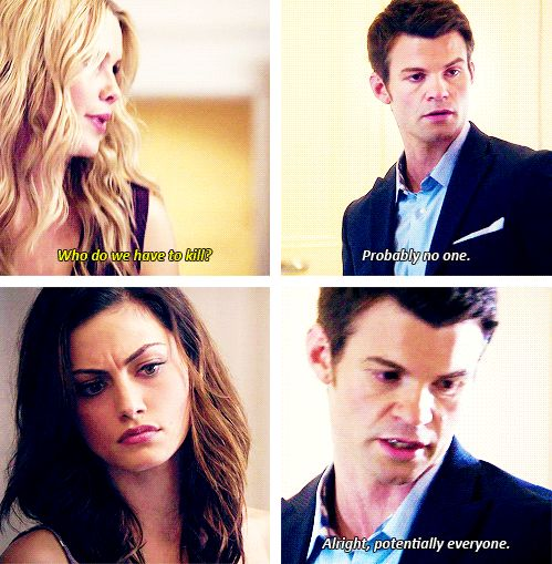 Rebekah x Elijah x Hayley - Claire Holt x Daniel Gillies x Phoebe Tonkin
