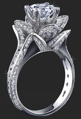 rose wedding ring you know we love it - Pretty Wedding Rings