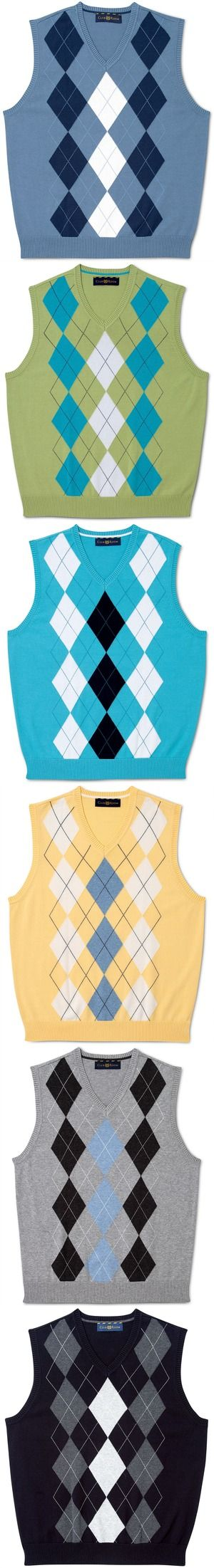 Check out these argyle sweater vests on sale from Club Room @Macy's Official. Which one?