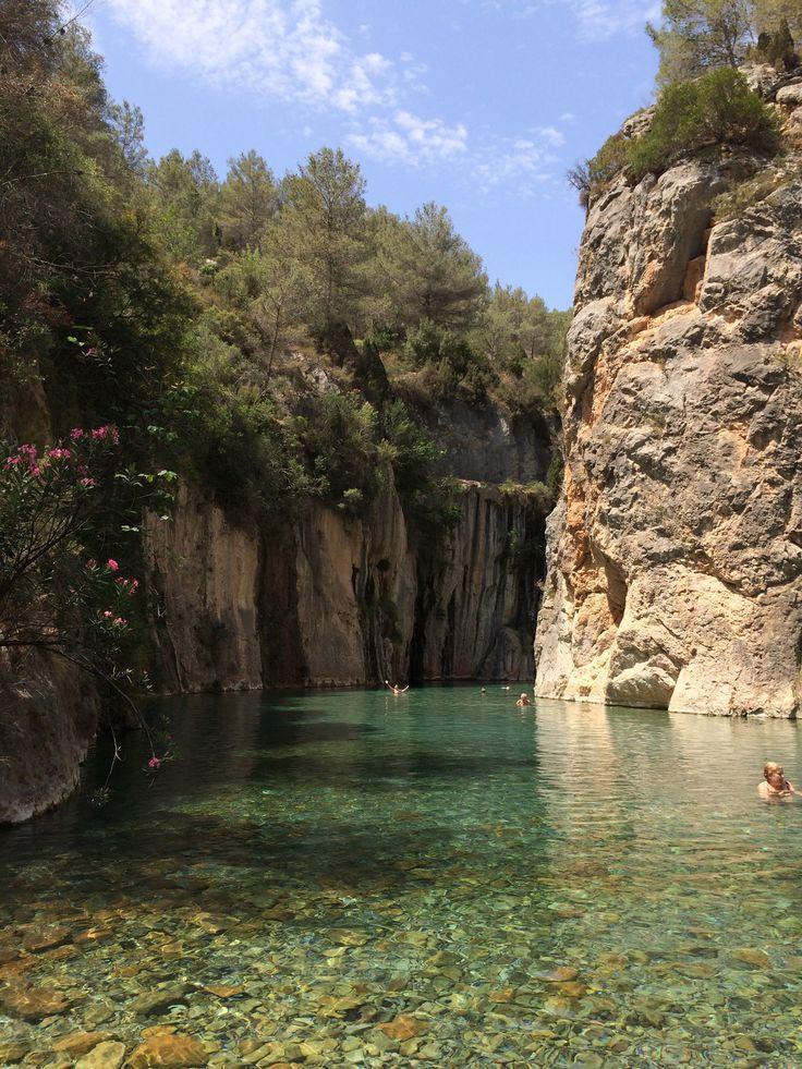 Dónde bañarse en plena naturaleza en la Comunidad Valenciana / Fuente de los Baños Montanejos Comunidad Valenciana
