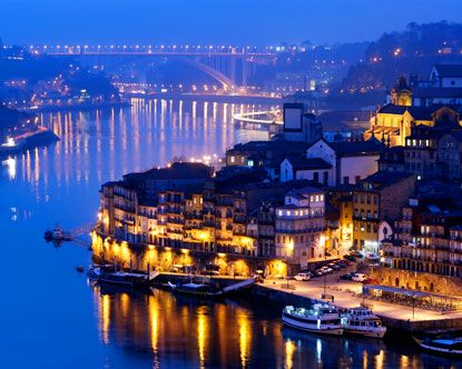 Oporto, Portugal...seafood paella and plenty of port wine made for a trip that was too short