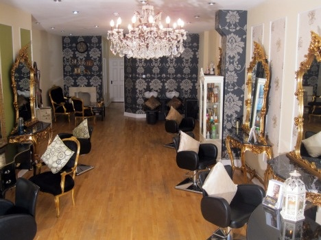 446 best images about salon interior design on pinterest for Salon shabby chic