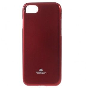 Husa iPHONE 7, Protectie Silicon, Mercury, Red
