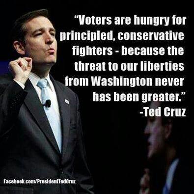 Ted Cruz is one true Patriot!