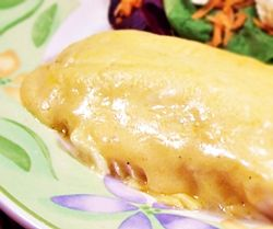 Make a creamy cheese sauce, pour it over fish and bake for an easy and delicious seafood dinner.