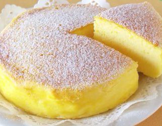 Denne japanske cheesecake har kun tre ingredienser og hele nettet savler over den