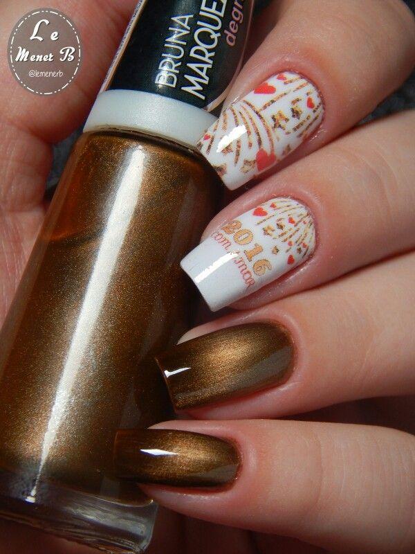 15 best New Year Nail Art images on Pinterest | Nail nail, Nailart ...