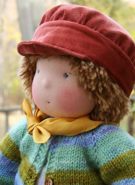 Cute boy doll by Nobby Organics