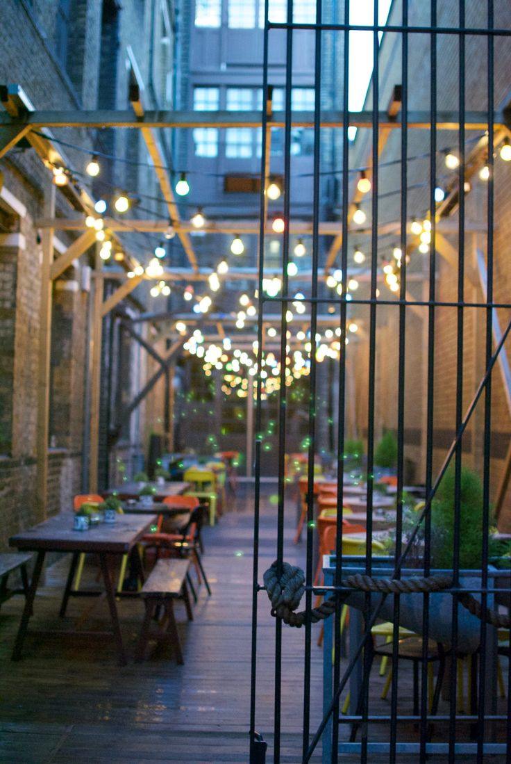 Cafe in Bermondsey street, London