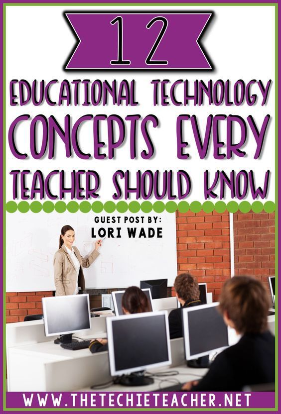 12 Educational Technology Concepts Every Teacher Should Know –  – #technology
