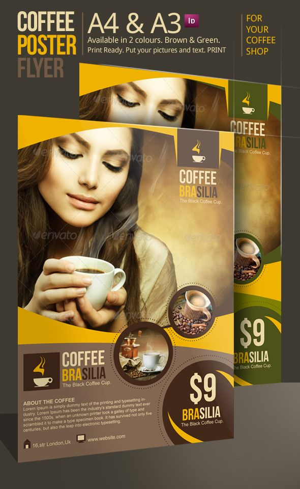 12 best Coffee Shop Menu images on Pinterest Menu templates - coffee shop brochure template