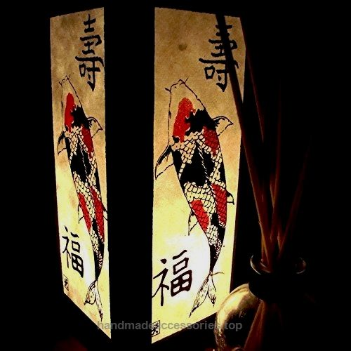 Koi Fish Table Lamp Lighting Shades Floor Desk Outdoor Touch Room Bedroom Modern Vintage Handmade Asian Oriental Wood LED Bedside Gift Art Home Garden Christmas (Copter Shop)  Check It Out Now     $21.99    Material : Wood Size : W x L x H : 5.00 x 5.00 x 11.00 Inch. Approx. 110-250 Volt. for other country with Adapter plu ..  http://www.handmadeaccessories.top/2017/03/16/koi-fish-table-lamp-lighting-shades-floor-desk-outdoor-touch-room-bedroom-modern-vintage-handmade-asian-orie..