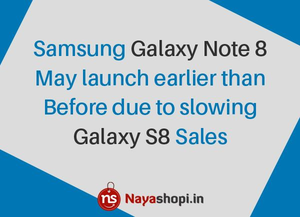 #SamsungGalaxyNote8 #launch #GalaxyS8 #sales #smarphones #android