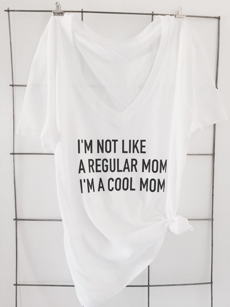 "A personal favorite from my Etsy shop <a href=""https://www.etsy.comlisting/267678778/not-a-regular-mom-t-shirt"" rel=""nofollow"" target=""_blank"">www.etsy.com...</a>   Mean girls, mean girls quotes, I'm not like a regular mom I'm a cool mom, mom t shirts, statement tees https://www.etsy.comlisting/267678778/not-a-regular-mom-t-shirt"