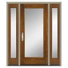 Architect Series Full Light Entry Door with Glass | Pella