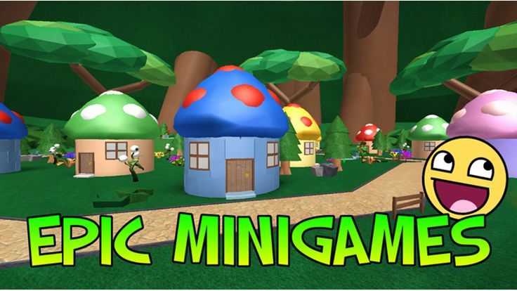 Epic Minigames ROBLOX (With images) Roblox, Epic, Play